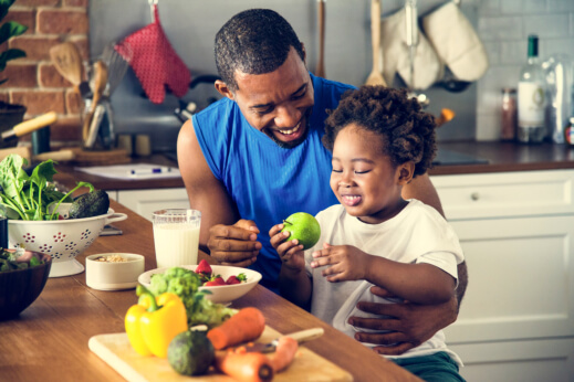 Preparing a Healthy Meal for Your Little Ones